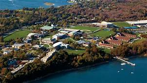 Roger Williams Campus from the air